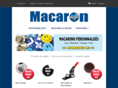 Site Détails : Bomacaron - Impression et fabrication de macarons