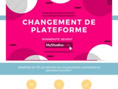 Détails : Bonnenote.fr : la rédaction de vos devoirs