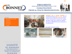 Création du site Internet de Bonnet Joël (SARL) (Entreprise de Chauffagiste à MARTIGUES CEDEX )