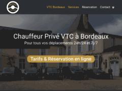 Détails : Chauffeur privé VTC Bordeaux