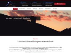 Création du site Internet de B&P Couverture (Entreprise de Couvreur à ANTIBES )