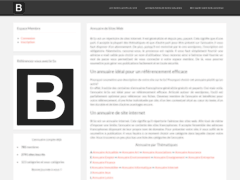 Plateforme de communication pour site web