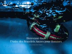Détails : Bracelet Ancre Homme : Boutique de vente des bracelets ancres