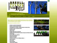 Création du site Internet de Breull Thierry (Entreprise de Paysagiste à  ENGINS )