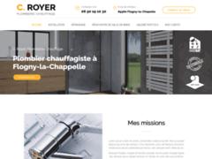 C.ROYER Plomberie Chauffage: Plombier à FLOGNY-LA-CHAPELLE