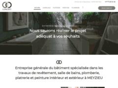 Création du site Internet de C 10 Concept (Entreprise de Entreprise générale à MEYZIEU )