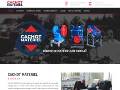 Détails : Cachot Matériel, entreprise de négoce de matériels de concassage-criblage