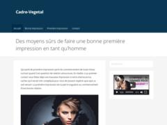 Détails : Tableau végétal mural