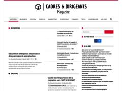 Détails : Pourquoi devriez-vous consulter le site cadresetdirigeants-magazine.com?