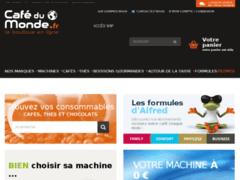 Détails : Boutique de café en ligne
