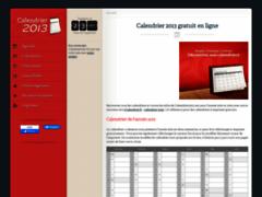 Calendrier 2013 .net