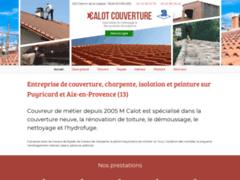 Création du site Internet de Calot Jephte (Entreprise de Couvreur à PUYRICARD )