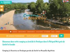 Camping Le Bourniou Saint Julien de Lapon en dordogne périgord noir