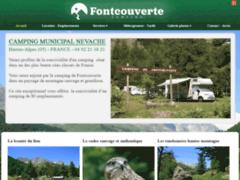 Création du site Internet de Camping de Fontcouverte (Entreprise de Camping à NEVACHE )