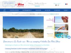 Camping 4 étoiles en Vendée près de la Tranche sur Mer
