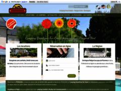 Camping Puynadal Brantome en dordogne périgord vert