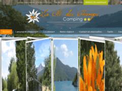 Création du site Internet de Camping La Clé des Champs (Entreprise de Camping à CHORGES )