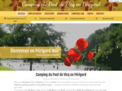 Camping Le Pont de Vicq en dordogne périgord noir