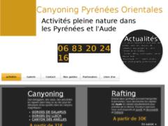 Détails : Canyoning Pyrénées Orientales activités de pleines natures