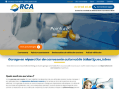 Garage en réparation de carrosserie automobile à Martigues, Istres