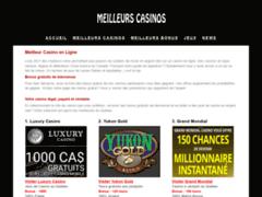 Listind des casinos en ligne du Québec et des bonus de bienvenue