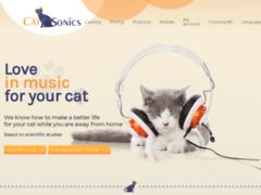 Détails : CatSonics, votre musique pour chats.