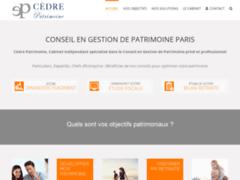 Détails : Présentation Cèdre Patrimoine, cabinet de conseil en gestion de patrimoine présent à Paris et Lyon