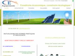 Création du site Internet de CE EQUIPEMENT (Entreprise de Chauffagiste à PARIS )