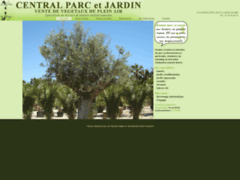 Création du site Internet de CENTRAL PARC ET JARDIN (Entreprise de Paysagiste à LA QUEUE EN BRIE )