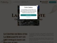 Création du site Internet de La BERGAMOTE (Entreprise de Spas à GAP )