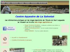 Ecurie du Haut Languedoc Stages d'équitation, élevage, pension