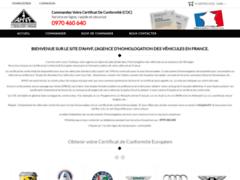 Détails : certificat de conformité européen