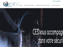 Création du site Internet de C.E.S. (Entreprise de Entreprise d'alarme à CLISSON )