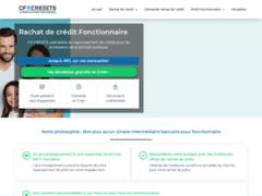 Rachat de crédits pour fonctionnaire avec CF Crédits