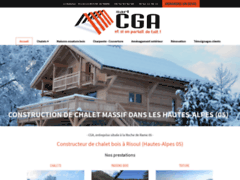 Création du site Internet de CGAssociés (Entreprise de Constructeur de maison à LA ROCHE DE RAME )