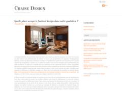 Détails : chaise design pas cher