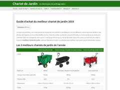 Détails : Comparateur chariot de jardin