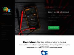 Création du site Internet de CHAUMET Patryck Electricité (Entreprise de Electricien à NANTES )