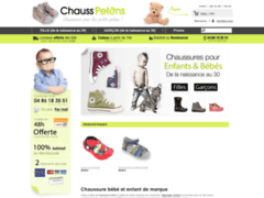 Détails : Chaussure bébé sur Chauss Petons