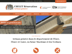 Création du site Internet de Chelet Renovation (Entreprise de Entreprise générale à SAINT-MARCEL )