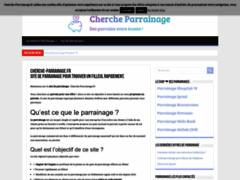Détails : Cherche-parrainage, un condensé de système de parrainage en ligne