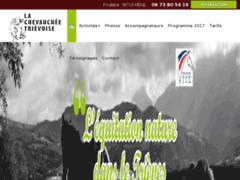 Création du site Internet de La Chevauchée Trièvoise (Entreprise de Centre équestre à MENS )