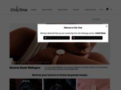 Détails : Vente de montre homme sur Chic Time