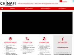 Création du site Internet de Chinafi (Entreprise de Formateur à MARSEILLE )