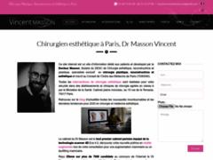 Dr Vincent Masson, Chirurgien esthétique paris