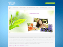 Grand choix d'eaux florales Christian LENART