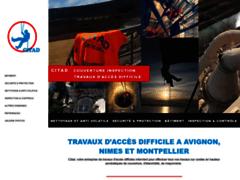 Création du site Internet de CITAD (Entreprise de Travaux acrobatiques à NIMES  )