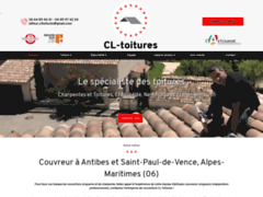 CL Toitures  couvreur     : Couvreur à ANTIBES