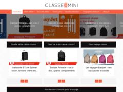 Détails : « Classe-Mini », guide comparatif sur les valises cabines pas chères