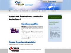 Création du site Internet de Clim Ecolo (Entreprise de Chauffagiste à PARIS )